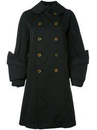 пальто с многослойными лацканами  Comme Des Garçons