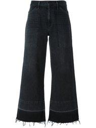 расклешенные укороченные брюки Citizens Of Humanity