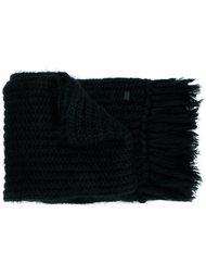 трикотажный шарф Emporio Armani