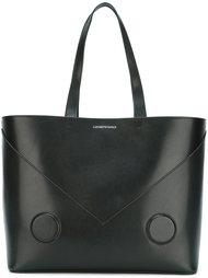 большая сумка-тоут Emporio Armani