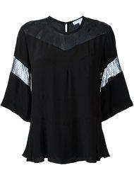 блузка с кружевными вставками Iro