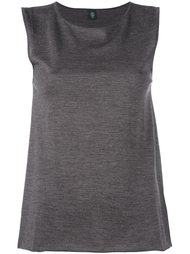 sleeveless knitted blouse Eleventy