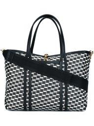 сумка-тоут с геометрическим узором Pierre Hardy