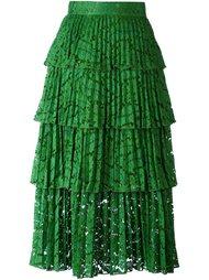 многоярусная кружевная юбка Nº21
