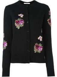 кардиган с цветочной вышивкой Givenchy