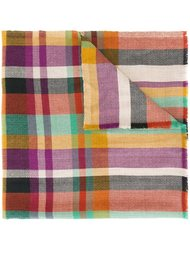 checked pattern scarf Etro