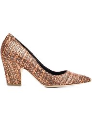 woven pointed toe pumps Rupert Sanderson