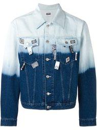 """джинсовая куртка с узором """"тай-дай"""" Christopher Shannon"""