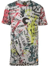 font print T-shirt  Vivienne Westwood Anglomania