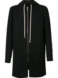 oversize hooded jacket Rick Owens