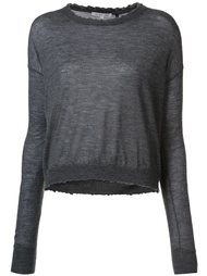 crew neck sweater Helmut Lang