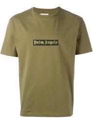 logo print T-shirt Palm Angels