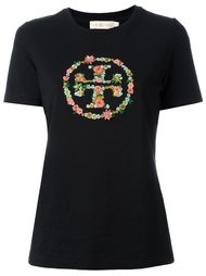 embroidered logo T-shirt Tory Burch
