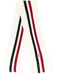 шарф в рубчик Moncler