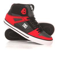 Кеды кроссовки высокие DC Spartan High Wc Red/Grey/Black