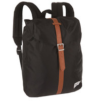 Рюкзак городской Herschel Post Mid Volume Black/Tan Synthetic Leather