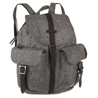 Рюкзак городской женский Herschel Dawson Scattered Raven Crosshatch/Black