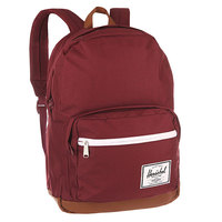 Рюкзак городской Herschel Pop Quiz Windsor Wine/Tan Synthetic Leather