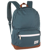 Рюкзак городской Herschel Pop Quiz Mid Volume Indian Teal/Tan Synthetic Leather