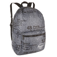 Рюкзак городской Herschel Packable Daypack Raven Crosshatch Site