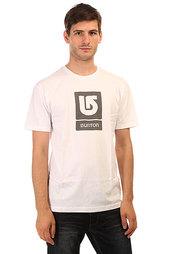 Burton Mns Lgo Vertical Stout White