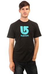 Футболка Burton Mns Lgo Vertical True Black