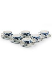 Набор чайных пар 12 предметов La Rose des Sables