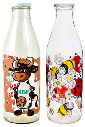 Набор бутылей 2шт Borgonovo