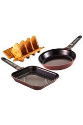 Набор сковород с подставкой Frybest