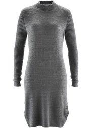 Вязаное платье (белая шерсть) Bonprix