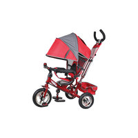 Трехколесный велосипед Navigator, красно-серый