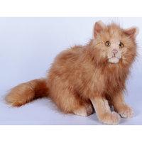 Кошка рыжая, 27 см Hansa