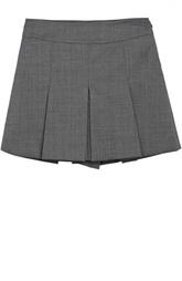 Шерстяные шорты со складками Dal Lago