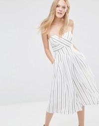 Комбинезон с юбкой‑шортами Greylin Nina - Белый
