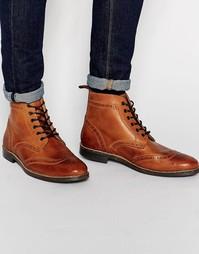 Ботинки броги Red Tape - Коричневый