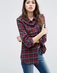Рубашка в красную клетку ASOS Ultimate - Мульти