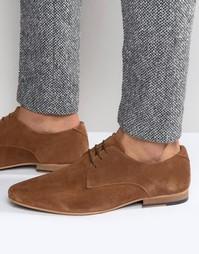 Светло-коричневые замшевые туфли дерби KG By Kurt Geiger Dorchester