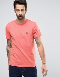 Красная футболка с логотипом в виде орла Lyle & Scott - Terracotta mar