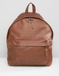 Кожаный рюкзак Eastpak Padded PakR - Коричневый