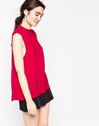 Красная майка Minimum Vallia - Насыщенный красный