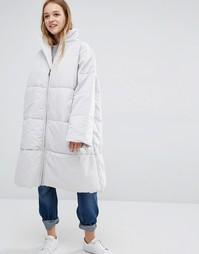 Стеганое пальто Waven Kasja - Серый