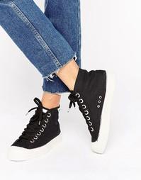 Черные классические кроссовки Novesta Star - Черный