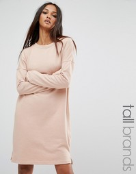 Платье-футболка Missguided Tall - Кэмел