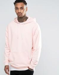 Свободное розовое худи ASOS - Floss
