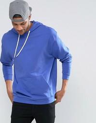 Oversize-худи темно-синего цвета ASOS - Balearic