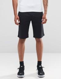 Черные трикотажные шорты Nike 804419-010 - Черный