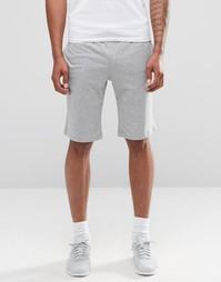 Серые трикотажные шорты Nike 804419-063 - Серый
