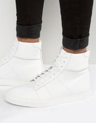 Белые кожаные кроссовки KG By Kurt Geiger Glastonbury - Белый