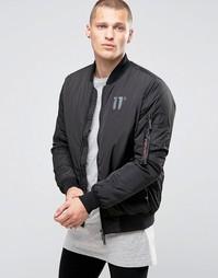 Куртка-пилот 11 Degrees - Черный