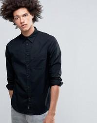 Черная оксфордская рубашка с карманом Cheap Monday Rude - Черный